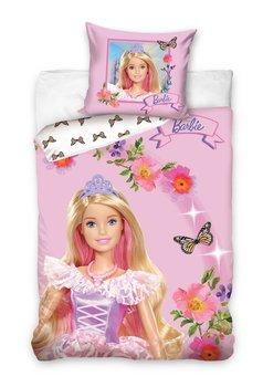 Carbotex, Barbie, Pościel dziecięca, 160x200 cm-Carbotex