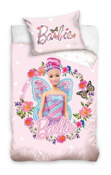 Carbotex, Barbie, Pościel niemowlęca, 100x135 cm-Carbotex
