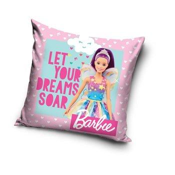 Carbotex, Barbie, Poszewka na poduszkę, 40x40 cm-Carbotex