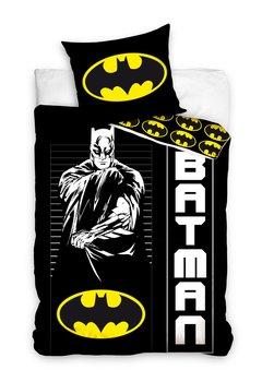 Carbotex, Batman, Komplet pościeli bawełnianej, 160x200 cm-Batman