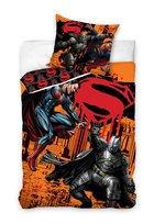 Carbotex, Batman&Superman, Komplet pościeli 160x200 cm