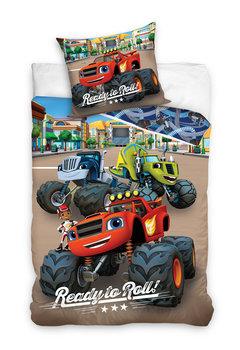 Carbotex, Blaze i Mega Maszyny, Pościel bawełniana, 160x200 cm-Blaze