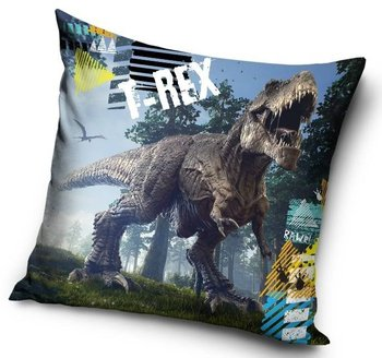 Carbotex, Poduszka jasiek, Dinozaur T-Rex Dino, 40x40 cm-Carbotex