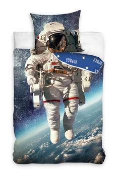Carbotex Pościel Dziecięca Bawełniana Astronauta 140x200 Cm
