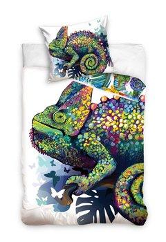 Carbotex, Pościel dziecięca, bawełniana, Kameleon, 160x200 cm -Carbotex