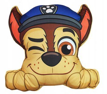 Carbotex, Psi Patrol, Chase, Poduszka dla dziecka/Maskotka-Carbotex