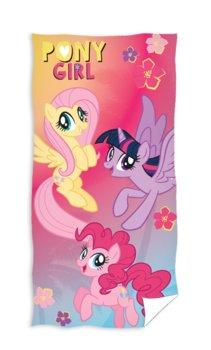 Carbotex, Ręcznik plażowy dla dzieci, kucyki My Little Pony, 75x150 cm-Carbotex