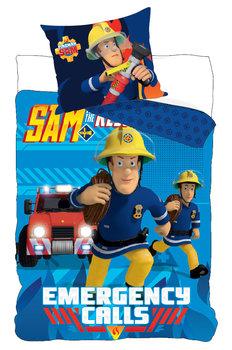 Carbotex, Strażak Sam, Pościel dziecięca, bawełniana, 160x200 cm -Carbotex