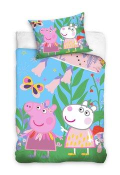 Carbotex, Świnka Peppa, Pościel dziecięca, 160x200 cm-Carbotex