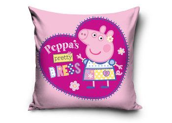 Carbotex, Świnka Peppa, Poszewka na poduszkę, 40x40 cm-Carbotex