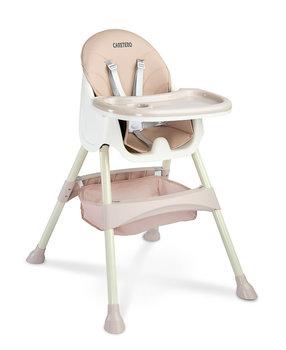 Caretero, Krzesełko do karmienia, Bill, Pink, 2w1-Caretero