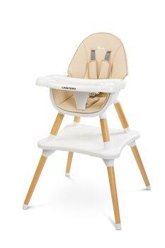 Caretero, Krzesełko do karmienia, Tuva, Beige-Caretero