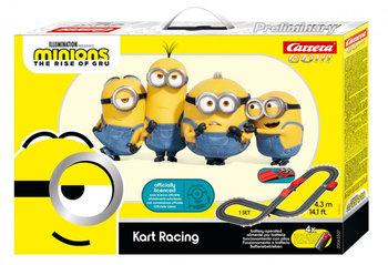 Carrera GO!!!, tor wyścigowy Minionki - Kart Racing, 4,3 m-Carreea