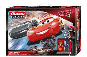 Carrera, tor wyścigowy GO Disney Pixar Auta Lets Race-Carrera