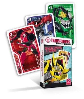 Cartamundi, gra Czarny Piotruś i Memo Transformers-Cartamundi