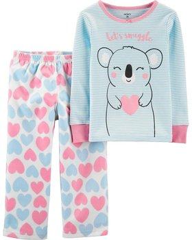 Carter's, Piżama polarowo-bawełniana, Koala, rozmiar 98 cm-Carter's