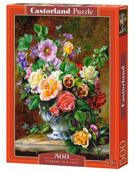 Castor, puzzle Kwiaty-Castorland
