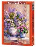 Castor, puzzle Liliowe kwiaty-Castorland