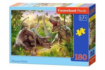 Castor, puzzle Walka dinozaurów-Trefl