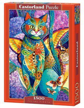 Castorland, puzzle Feline Fiesta-Castorland