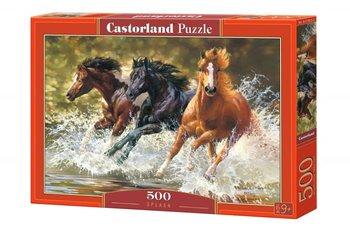 Castorland, puzzle Konie-Castorland