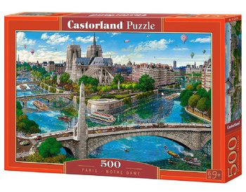 Castorland, puzzle Paris Notre Dame-Castorland