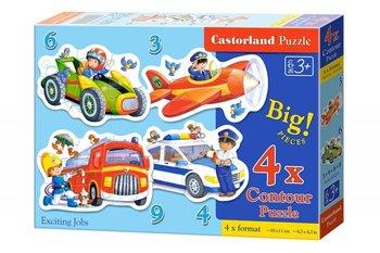 Castorland, puzzle Pojazdy-Castorland