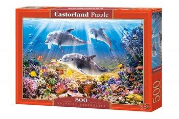 Castorland, puzzle tradycyjne Delfiny-Castorland