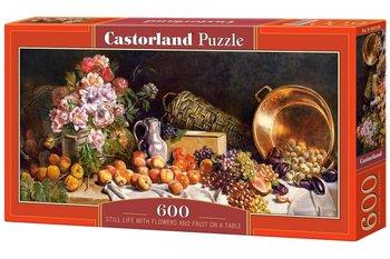 Castorland, puzzle tradycyjne Martwa natura kwiaty i owoce-Castorland