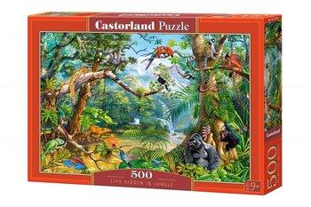 Castorland, puzzle życie ukryte w Dżungli-Castorland