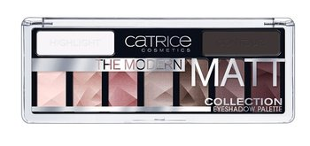 Catrice, The Modern Matt Collection, paleta cieni do powiek 010 The Must-Have Matts, 10 g - Catrice