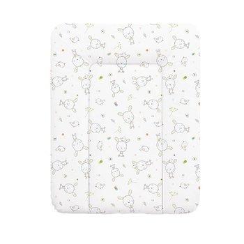 Ceba, Tapicerka miękka na komodę-przewijak Dream, Biały,  50x70 cm-Ceba