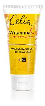 Celia, Witamina C, odżywczo-liftingująca maska do twarzy, 60 ml-Celia