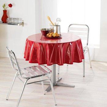 Cerata na stół PLAIN, ∅ 180 cm, przeźroczysta-Douceur d'intérieur