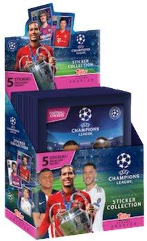 Champions League UEFA Box 30 Saszetek z Naklejkami