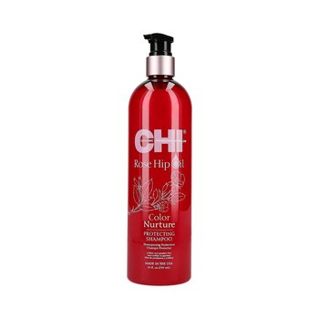 CHI, Rose Hip Oil, szampon ochronny do włosów farbowanych, 739 ml-CHI