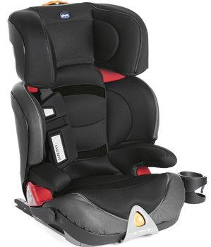 Chicco, Oasys 2-3 FixPlus Evo, Fotelik samochodowy, 15-36 kg, Czarny-Chicco