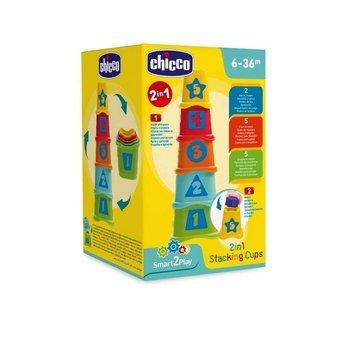 Chicco, Smart2Play, sorter Wieża Kubeczki, 2w1-Chicco
