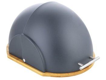 Chlebak FLORENTYNA Helmet Capri, szary, 37x26x22 cm.-FLORENTYNA