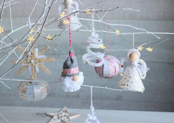 Choinka jasna - czyli ozdoby, które rozświetlą świąteczne drzewko