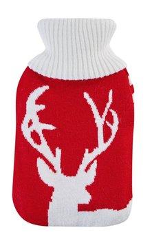 Christmas Time, Termofor, renifer, biało-czerwony-Empik