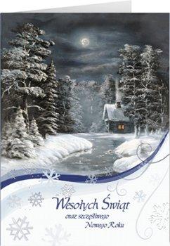 Cicha Noc kartka świąteczna z życzeniami B-T 588-Czachorowski
