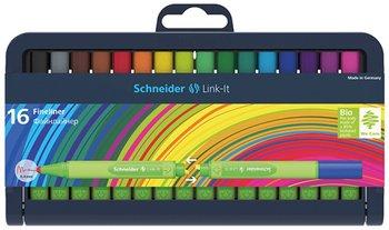 Cienkopisy, 0,4 mm, 16 kolorów-Schneider