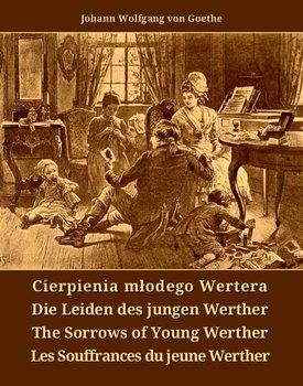 Cierpienia młodego Wertera. Die Leiden des jungen Werther. The Sorrows of Young Werther. Les Souffrances du jeune Werther-Goethe Johann Wolfgang