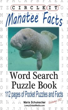 circle it manatee facts word search puzzle book lowry global