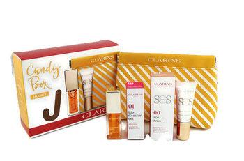 Clarins, Candy Box, zestaw kosmetyków, 2 szt. + kosmetyczka-Clarins