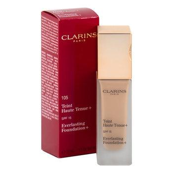Clarins, Everlasting, trwały podkład do twarzy 105 Nude, SPF 15, 30 ml-Clarins