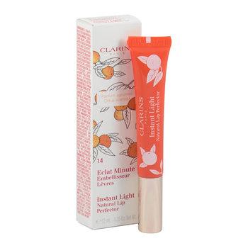 Clarins, Instant Light, błyszczyk do ust z pigmentami rozświetlającymi 3D 14 Juicy Mandarin, 12 ml-Clarins