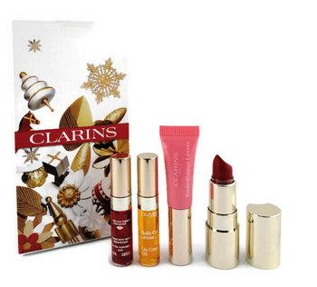 Clarins, Lip Perfector, zestaw kosmetyków, 4 szt.-Clarins