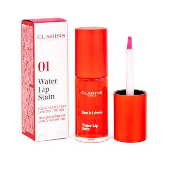 Clarins, Water Lip Stain, woda koloryzująca do ust 01 Water Pink, 7 ml-Clarins